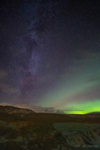 Milky Way Aurora